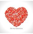 heart shape hearts valentine vector image vector image