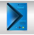 journal travel vector image vector image
