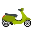 Scooter icon flat style