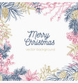 square monochrome holiday background or backdrop vector image vector image