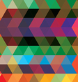 triangle color vector image vector image
