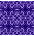 violet seamless wallpaper vector image vector image