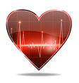 heart monitor vector image