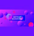 balls shapes vector image vector image