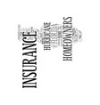 florida homeowners insurance coverage text vector image vector image