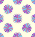 Flower seamless pattern decorative design element vector image vector image