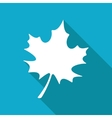 maple leaf icon Eps10 vector image vector image