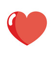 nice heart and love symbol design vector image vector image