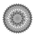 round floral mandala decorative ethnic element vector image vector image