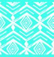 tiffany blue colored tribal navajo seamless vector image
