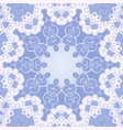 abstract background round ornament texture blue vector image vector image