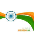 abstract background with the symbol of india vector image