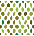 Abstract green seamless pattern vector image vector image