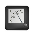 ammeter to measure the current vector image vector image