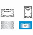 business cards 1 vector image vector image