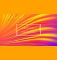 modern orange purple liquid wave background vector image vector image