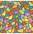 seamless mosaic pattern of polygonal vector image