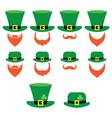 Leprechaun character for St Patricks Day vector image