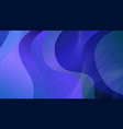 abstract wave-shaped color background vector image vector image