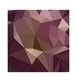 Deep Tuscan Red Purple Abstract Low Polygon vector image vector image