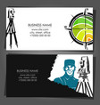 engineer land surveying and land registration vector image vector image