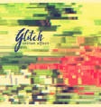 image glitch or data error background vector image vector image