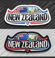 logo for new zealand vector image