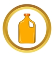 Packaging for engine oil icon vector image vector image