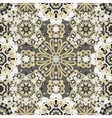 Seamless round pattern for printing on fabric or vector image