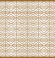 seamless traditional japanese geometric ornament vector image vector image