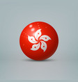 3d realistic glossy plastic ball or sphere with vector image