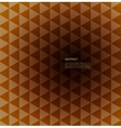 Abstract Background retro mosaic brochure or vector image vector image