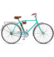 Bicycle with Rounded Frame vector image vector image