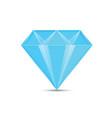 diamond blue vector image