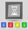 Hourglass Sand timer icon sign on the original vector image