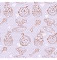 romantic love vintage pattern