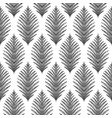 seamless ogee pattern vector image