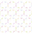seamless pattern background with sperm vector image vector image