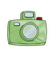 vintage photographic camera vector image vector image
