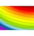 Abstract rainbow stripes background vector image