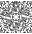 mandala vintage decorative elements oriental vector image vector image