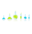 Test Tubes vector image vector image