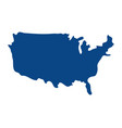 united state map vector image vector image