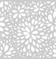 abstract seamless drop pattern monochrome texture vector image vector image
