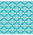 aqua tribal seamless pattern background vector image