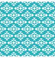 aqua tribal seamless pattern background vector image vector image