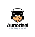 Auto Deal Design vector image vector image