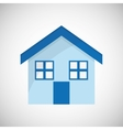 Home design House icon Isolated vector image vector image