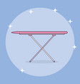 ironing board laundry service vector image