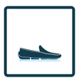 Moccasin icon vector image